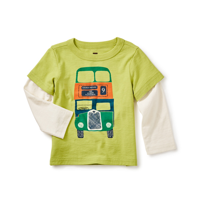 Dundee Bus graphic tee - 6-9 months 1