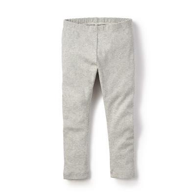 Grey striped leggings - 8 1