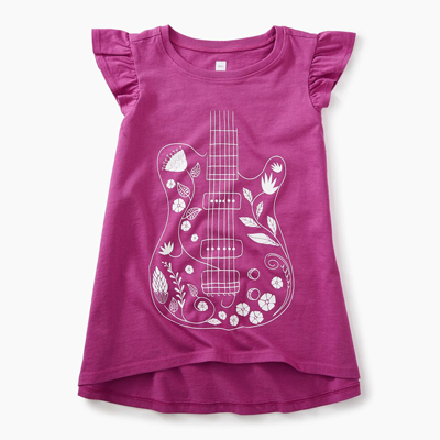 Floral guitar twirl top 1