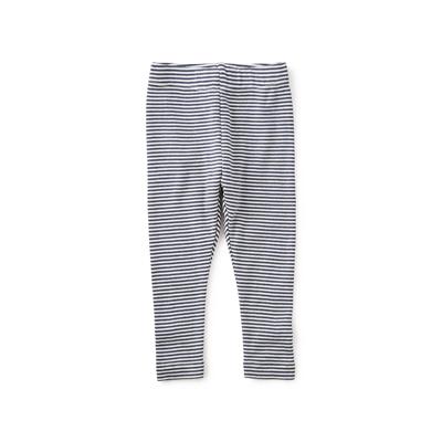 Heritage blue striped leggings 1