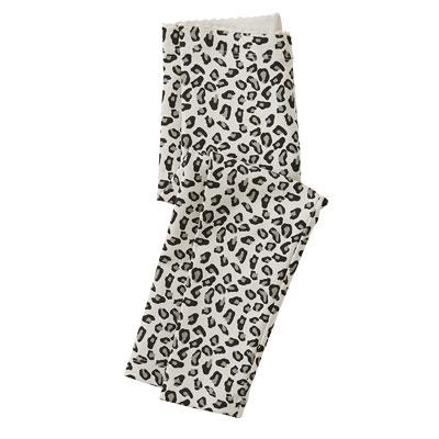Snow Leopard leggings 1