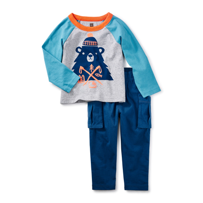 Munro Bear  Baby Outfit 1