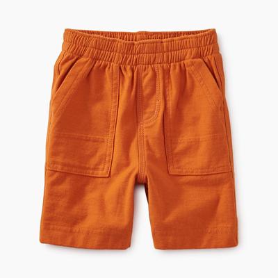 Papaya below knee shorts - 4 1