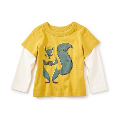 Risu-en graphic shirt - 3-6 months 1
