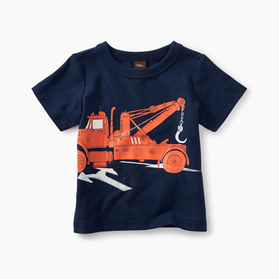 Tow Truck graphic tee 1