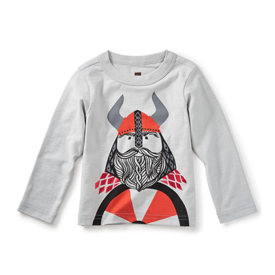 Little Viking graphic tee - 12-18 months 1