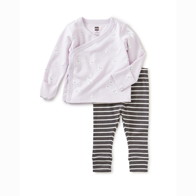 Bliss wrap top baby outfit 1