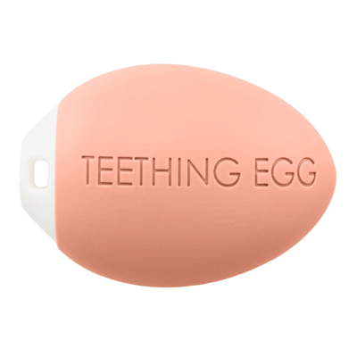 The Teething Egg - Coral 2