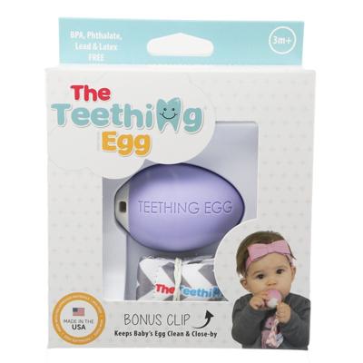 The Teething Egg - Lavender 3