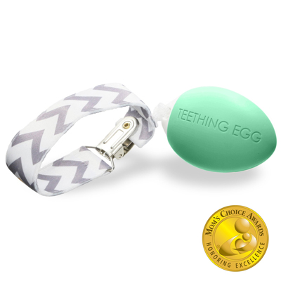 The Teething Egg - Mint Green 1
