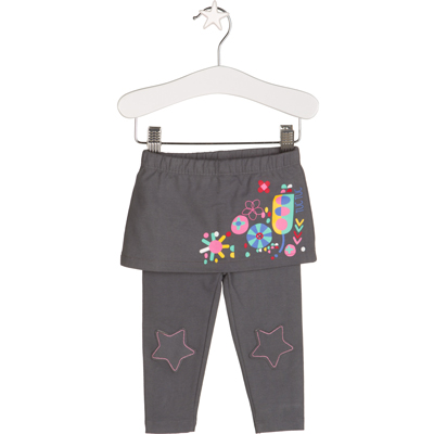 Hero collection skirt with attached leggings - 9 months 1