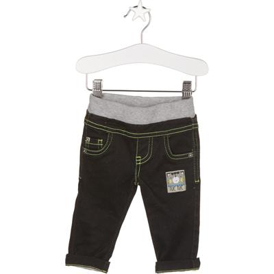 Black and white team panda shirt & jeans - 6 months 2