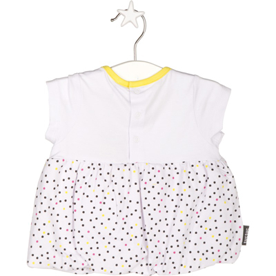Crazy lemons bow shirt 2