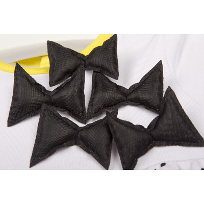 Crazy lemons bow shirt 3