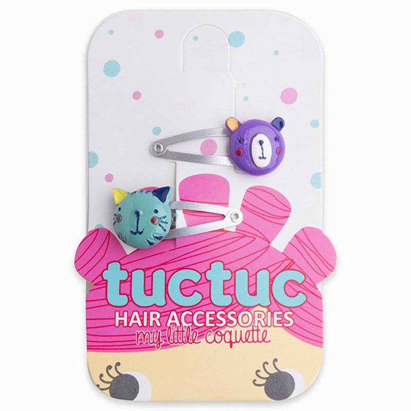 Animals hair clips 3