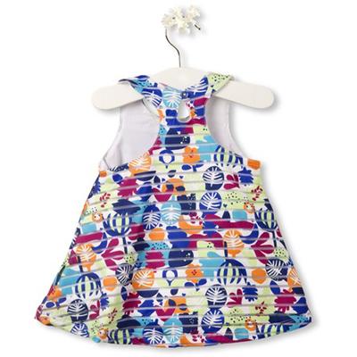 Deep Tropical dress - 6 months 2
