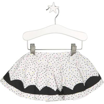 Crazy lemons polka dot skirt 1