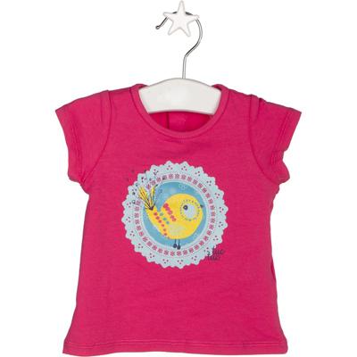 Hot pink bird shirt 1