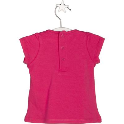 Hot pink bird shirt 2