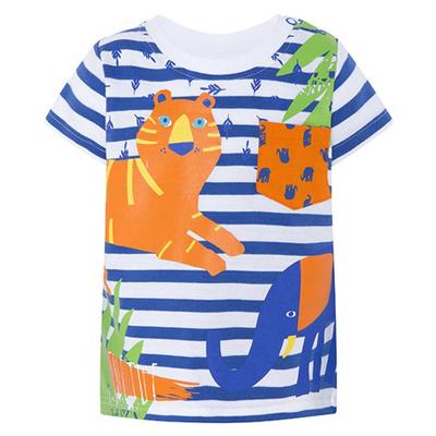 Animal crew striped shirt 1