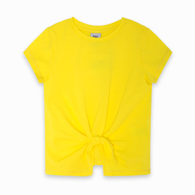 Amarillo shirt with tie front 1