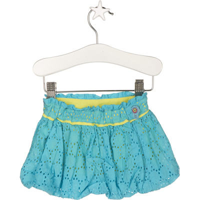 Turquoise bubble skirt 1
