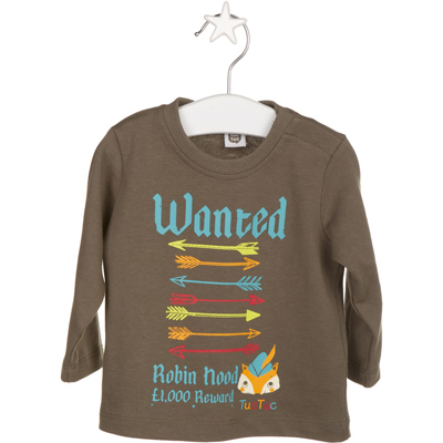 Robinhood Wanted shirt - 6 months 1
