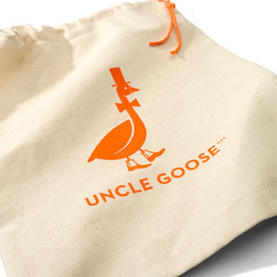 Canvas storage bag for Uncle Goose Blocks 1
