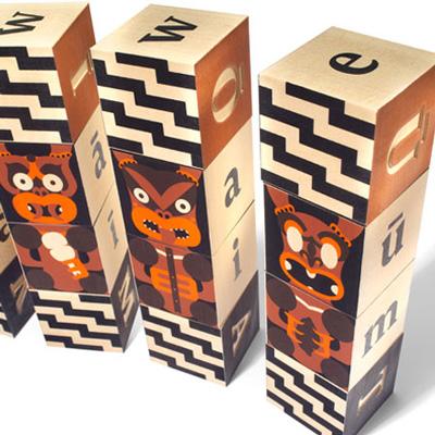 Maori blocks by Uncle Goose 2
