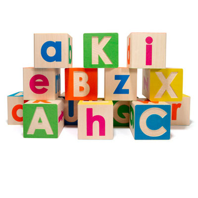 Uppercase/Lowercase ABC Blocks 1