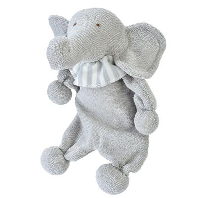 Grey Elephant organic toy 1