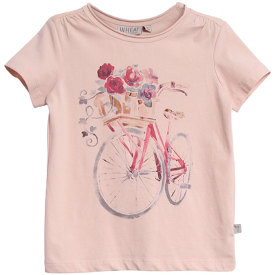Flower bike t-shirt 1