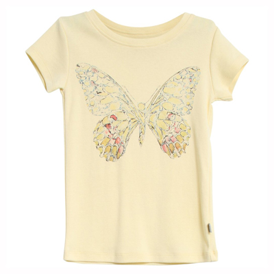 Butterfly organic tee 1