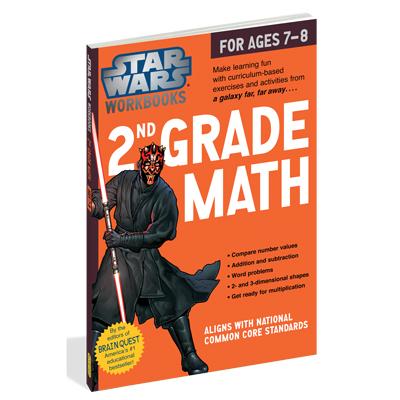 Star Wars Workbook: 2nd Grade Math 1