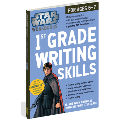 Star Wars Workbook: 1st Grade Writing Skills 1