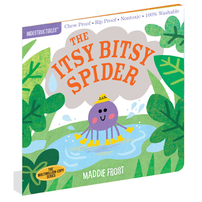 Indestructibles: The Itsy Bitsy Spider 1