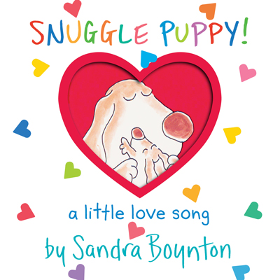 Snuggle Puppy (lap size board book) by Sandra Boynton 1