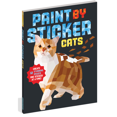 Paint by Sticker: Cats 1