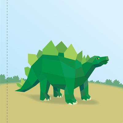 Paint by Sticker Kids: Dinosaurs 3