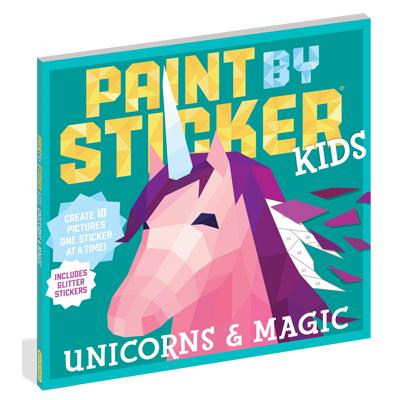 Paint by Sticker Kids: Unicorns & Magic 1