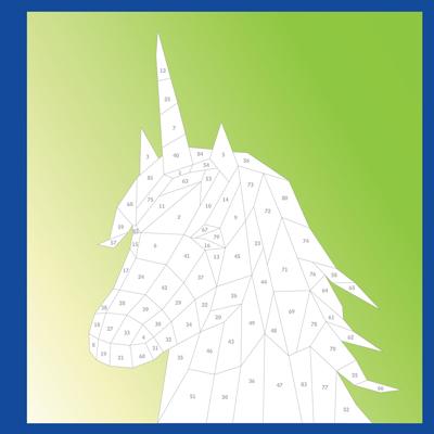 Paint by Sticker Kids: Unicorns & Magic 2