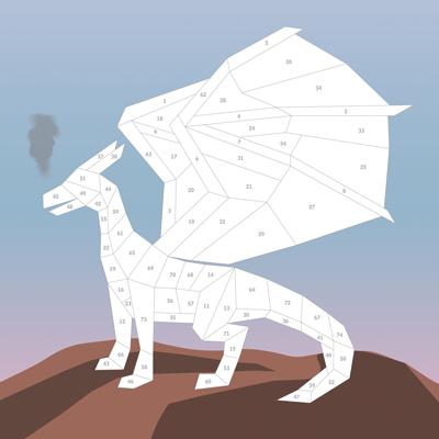 Paint by Sticker Kids: Unicorns & Magic 4