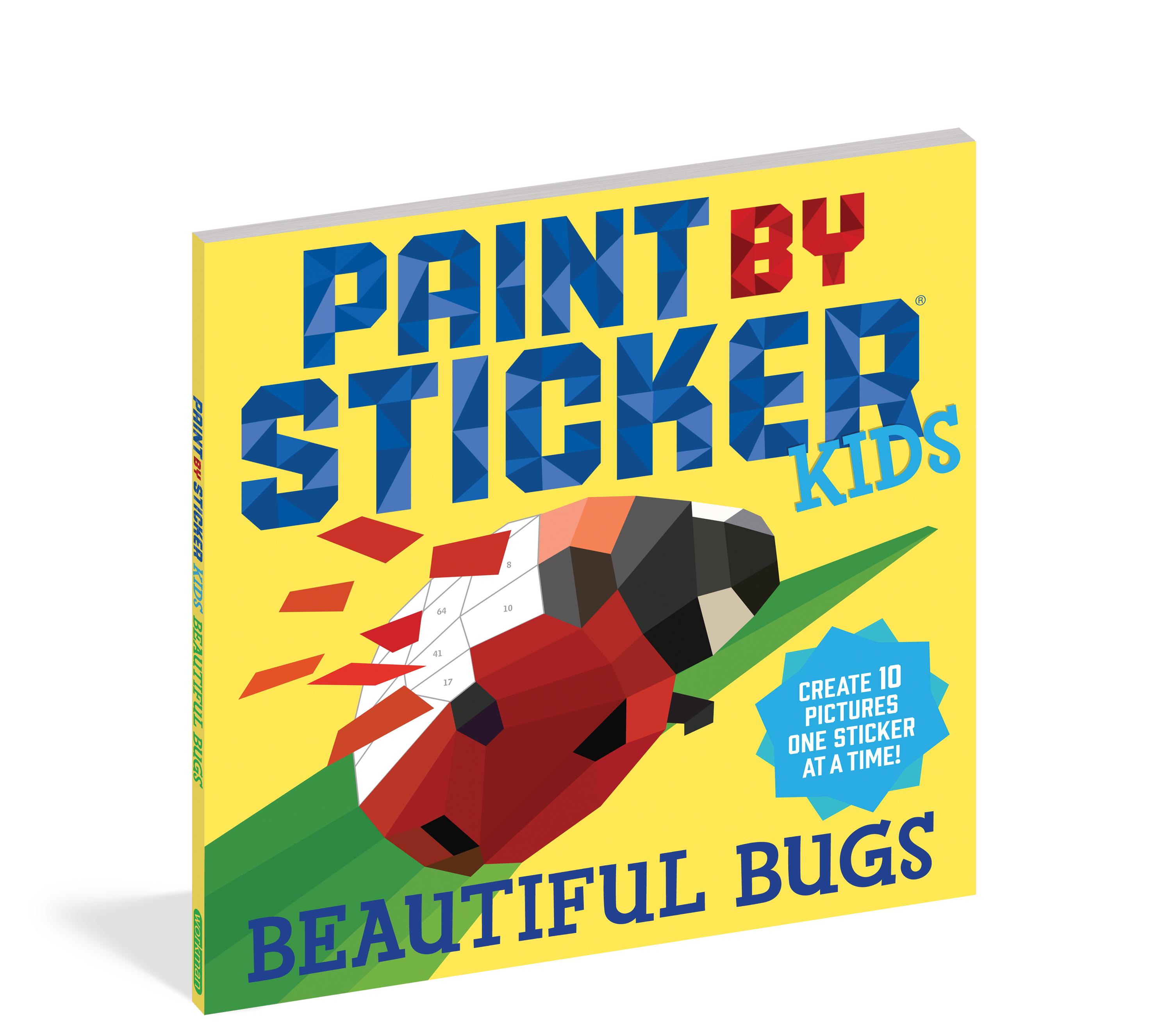 Paint by Sticker - Beautiful Bugs 3
