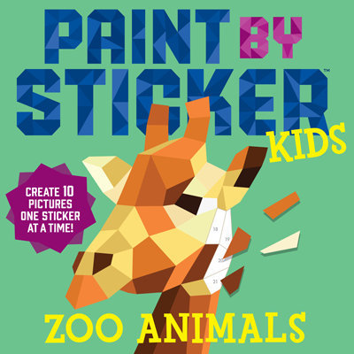 Paint by Stickers Zoo Animals (Kids) 1