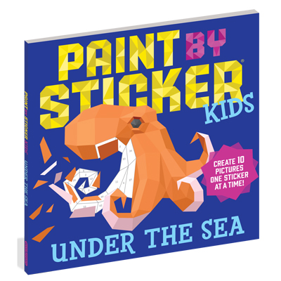 Paint by Sticker Kids: Under the Sea 1