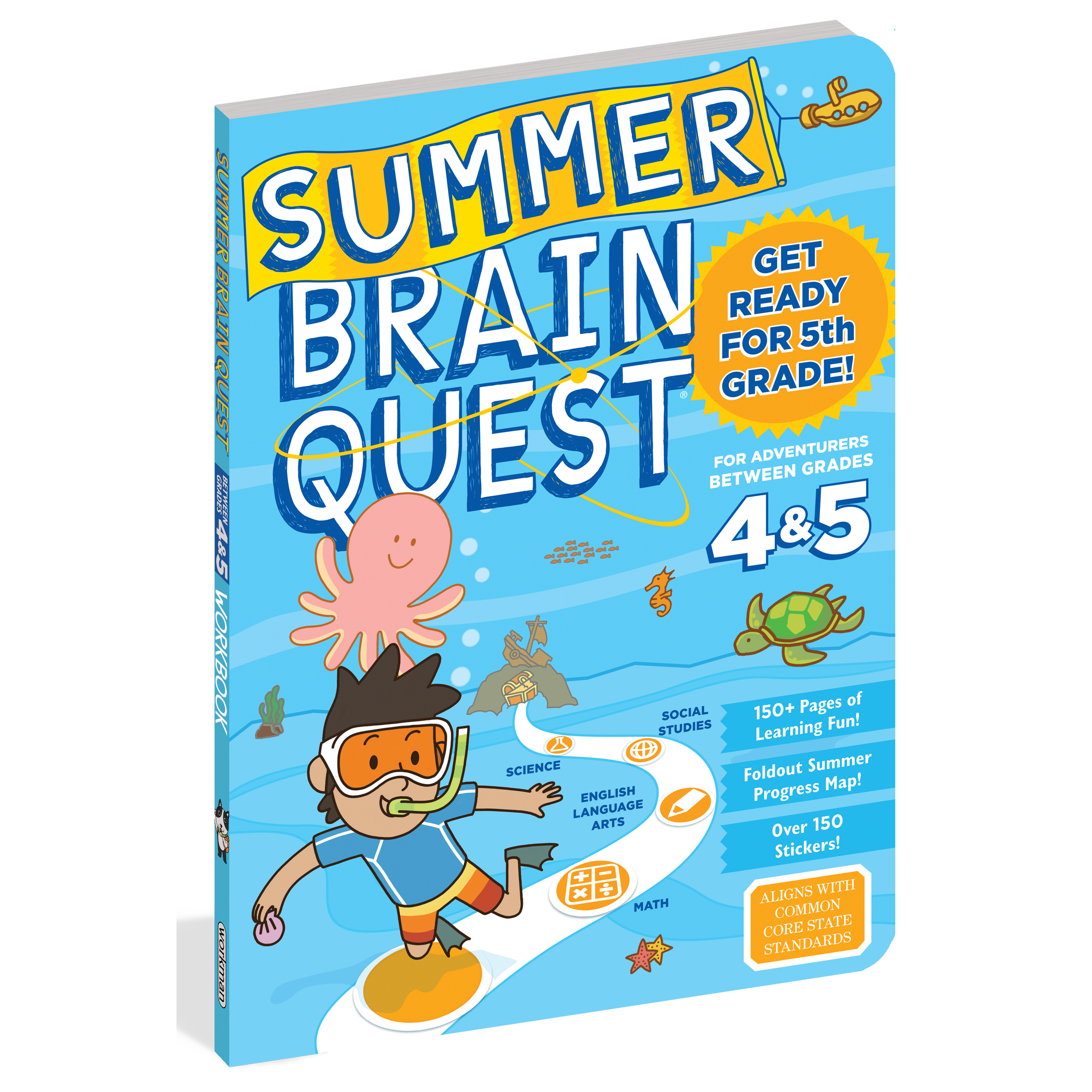 Summer Brain Quest Get ready for 5th Grade! 1