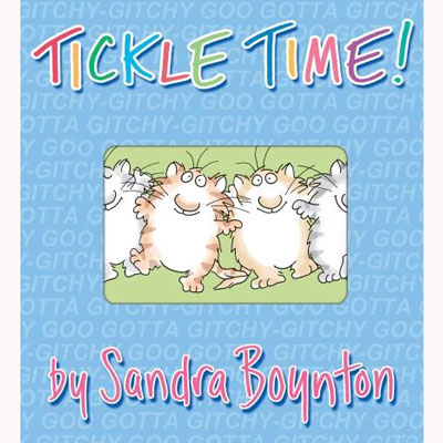 Tickle Time by Sandra Boynton 1