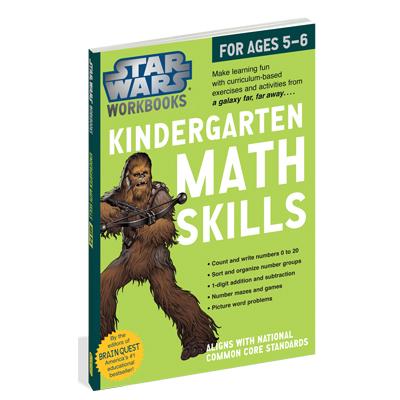 Star Wars Workbook: Kindergarten Math Skills 1