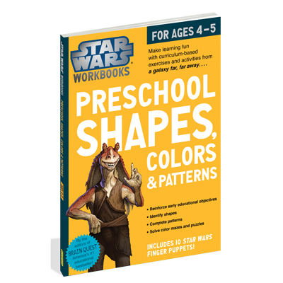 Star Wars Workbook: Preschool Shapes, Colors, and Patterns 1