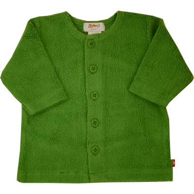 Apple Green Cozie fleece jacket 1